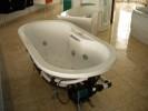 Baignoire Loft 180 x 80cm. Système air + eau, siphon, cadre de montage.